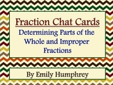 Fraction Math Chat Cards (Determining Parts of the Whole a