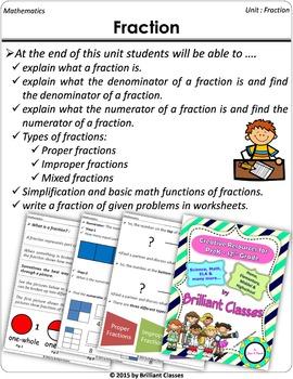 Fraction (Math Common Core)