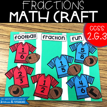 Fractions Math Craft