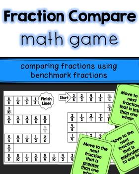 Fraction Math Games Bundle
