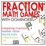 Domino Domination Fraction Games