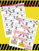 Fraction Mazes/Worksheets BUNDLE