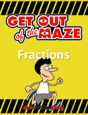 Fraction Mazes/Worksheets BUNDLE