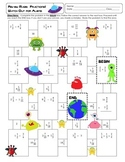 Fraction Maze: Watch Out for Aliens ~ Fractions with All O