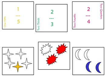 Fraction Memory Game