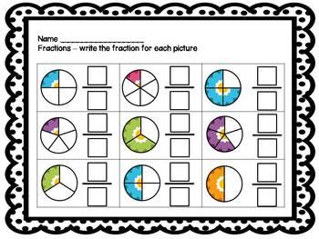 Fraction Mini Unit {for primary grades}
