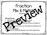 Fraction Mix and Match