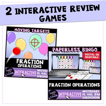 Fraction & Mixed Number Operations Bundle