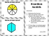 Fraction Model Task Cards