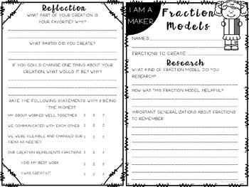 Fraction Models Makerspace Lab