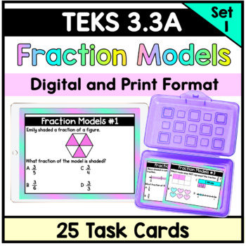 Fraction Models - TEKS 3.3A