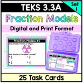 Fraction Models - TEKS 3.3A