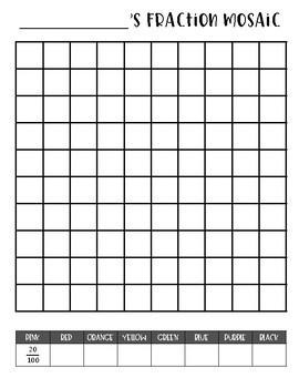 Fraction Mosaic Mini-Project