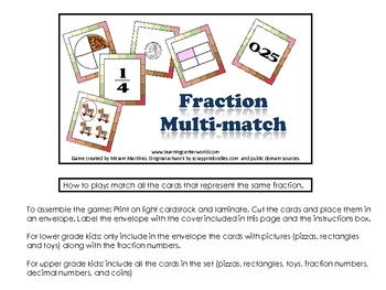Fraction Multi-match