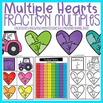 Multiples Heart:Unit Fraction Multiples