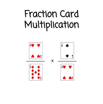 Fraction Multiplication Card Game