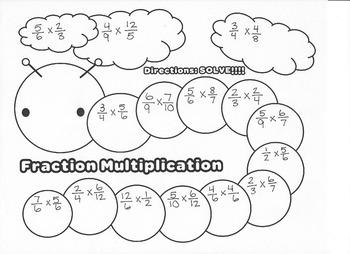 Fraction Multiplication Caterpillar