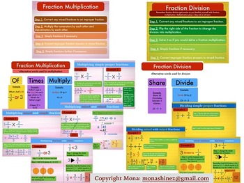 Fraction Multiplication & Division