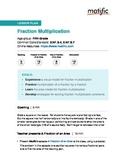 Fraction Multiplication - Lesson Plan for 5th grade