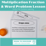 Fraction Multiplication Word Problem Digital Slides Activi