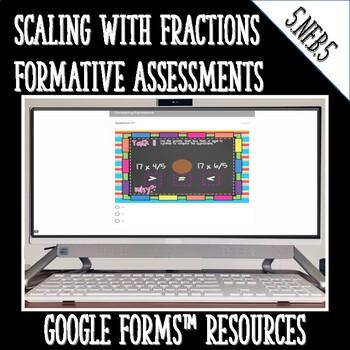 Fraction Multiplication as Scaling Digital Task Cards 5.NF.5