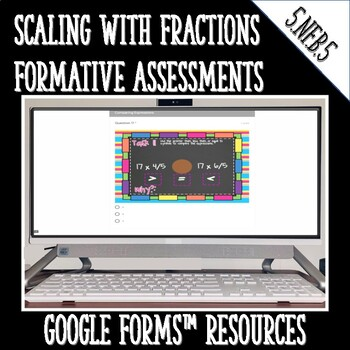 Fraction Multiplication as Scaling Digital Task Cards 5.NF.5