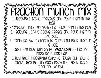Fraction Munch Mix