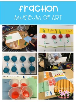 Fraction Museum of Art: Understanding Fractions & Partitioning Different Wholes