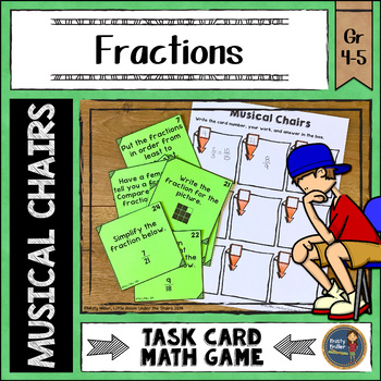 Fractions Musical Chairs