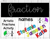 Fraction Name Activity