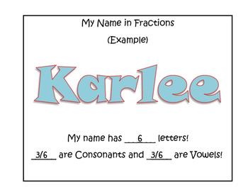 Fraction Names!