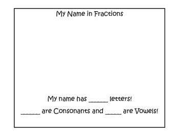 Fraction Names!