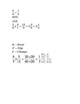 Fraction Notes