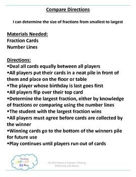 Fraction Number Bonds and Number Lines