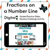 Fraction Number Line Digital Activity