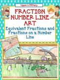Fraction Number Line Art Activity/Project