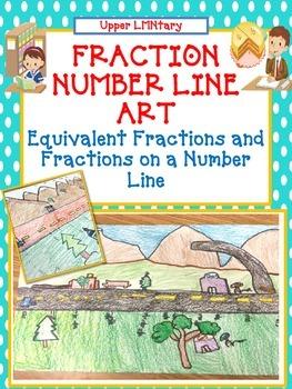 Fraction Number Line Art Activity/Project