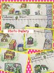 Fraction Number Line Art COLONIAL TOWN