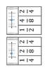 Fraction Number Line Clip Cards