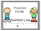 Fraction Number Line Task Cards