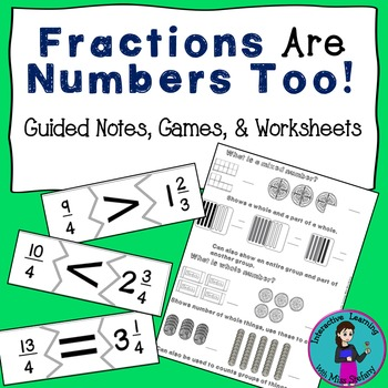 Fraction Number Sense Guided Notes