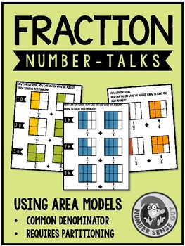 Fraction Number Talks (3-5) Area Models