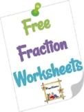 Fraction Number line Worksheet