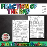 Fraction OF THE DAY Daily Review Math Warm up Early finish