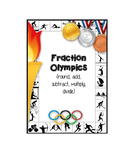 Fraction Olympics add subtract multiply divide round