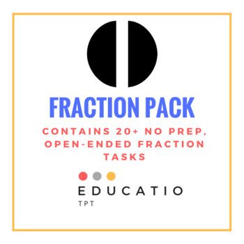 Fraction Open-Ended Task Pack (Middle Years)