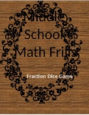 Fraction Operation Dice Game