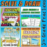 Fraction Operations & Word Problem Bundle