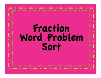 Fraction Operation Sort