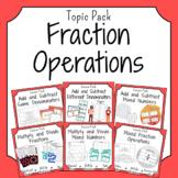 Fraction Operations Bundle